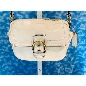 Coach Campbell Camera Crossbody Bag in ivory